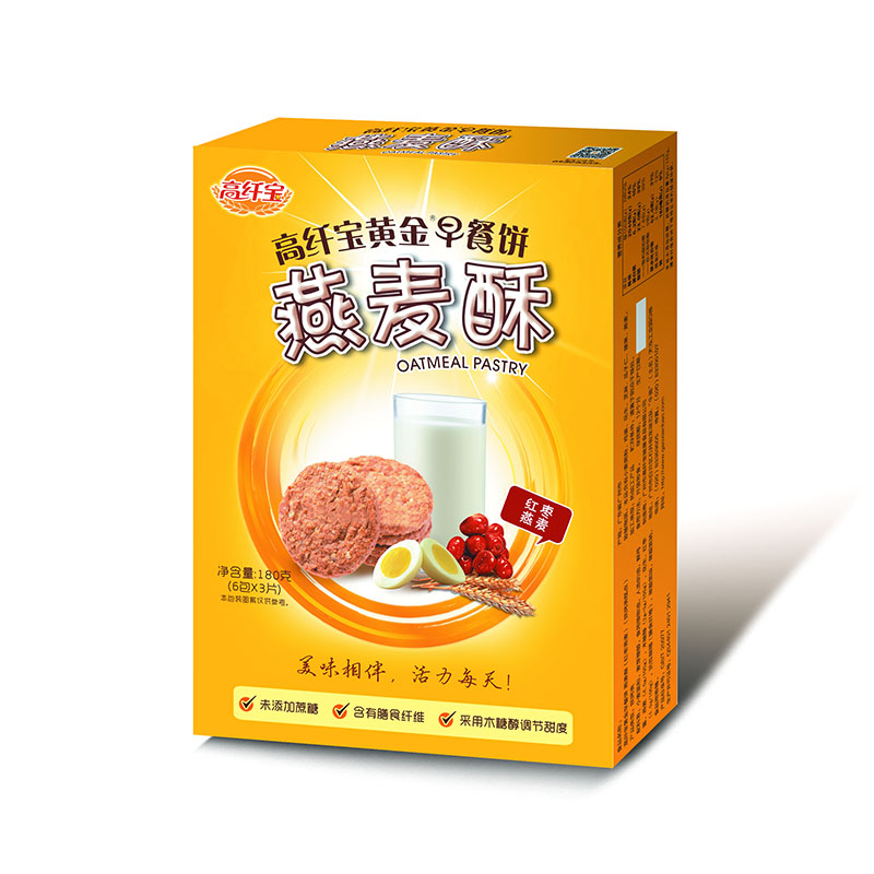 高纤宝——木糖醇燕麦酥(红枣燕麦)