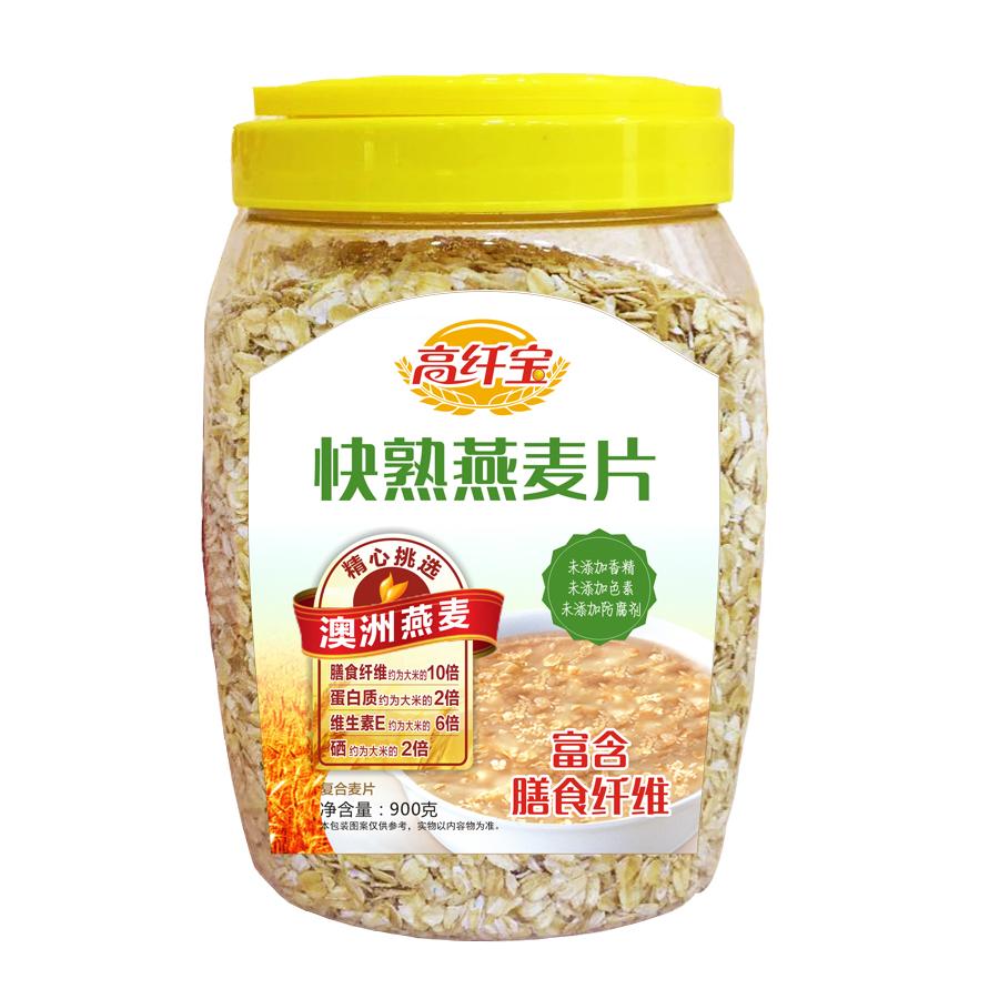 高纤宝——快熟燕麦片