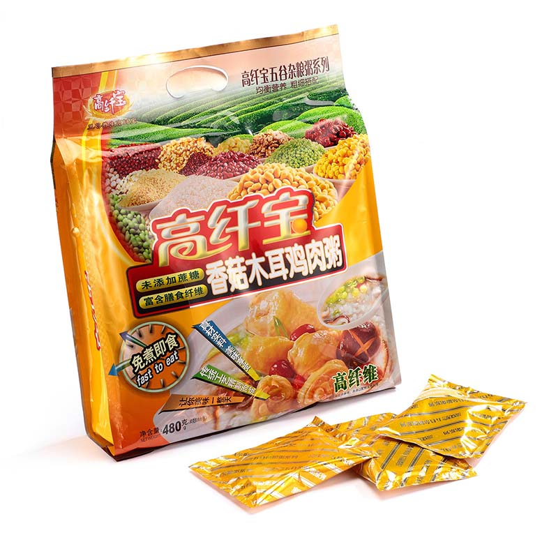 高纤宝——香菇木耳鸡肉粥