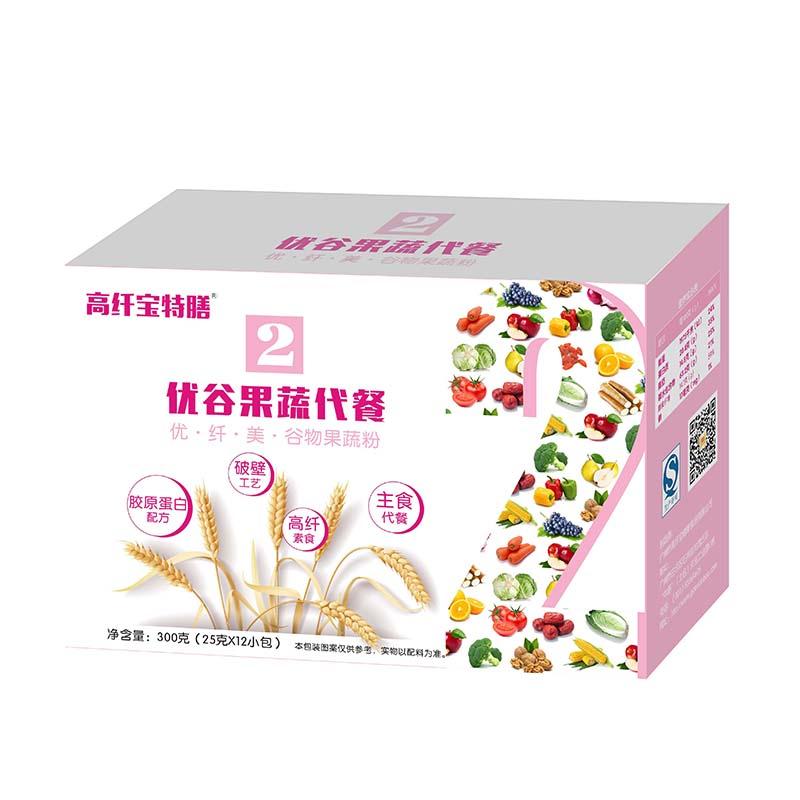 高纤宝特膳——优谷果蔬代餐2号(优纤美)