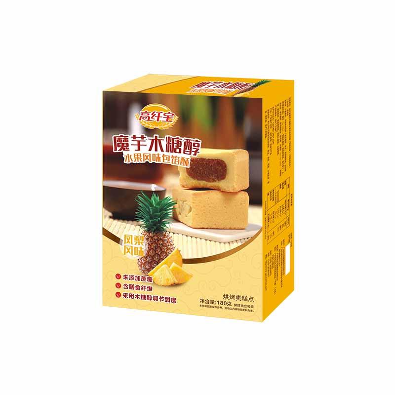高纤宝——木糖醇凤梨风味包馅酥