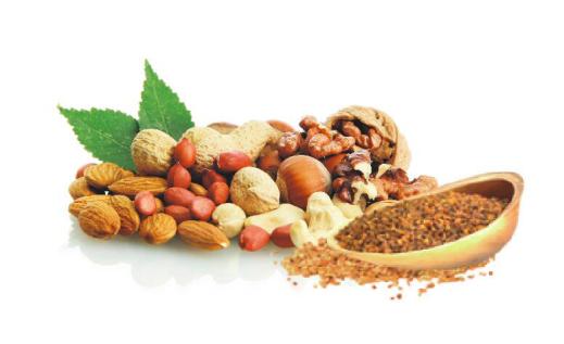 高纤宝——苦荞麦坚果酥原料