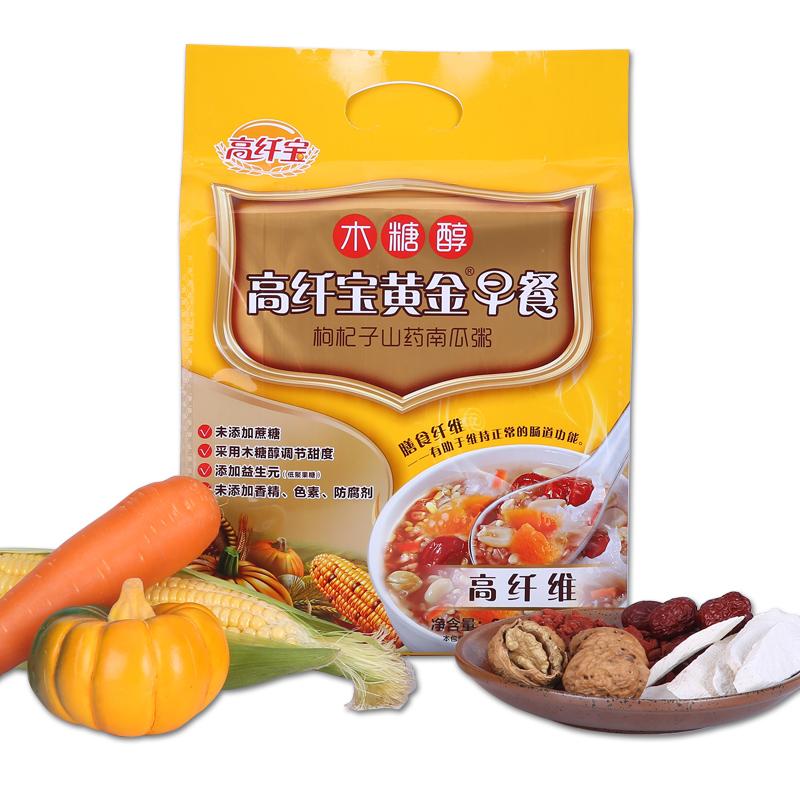 title='高纤宝——黄金早餐枸杞子山药南瓜粥'