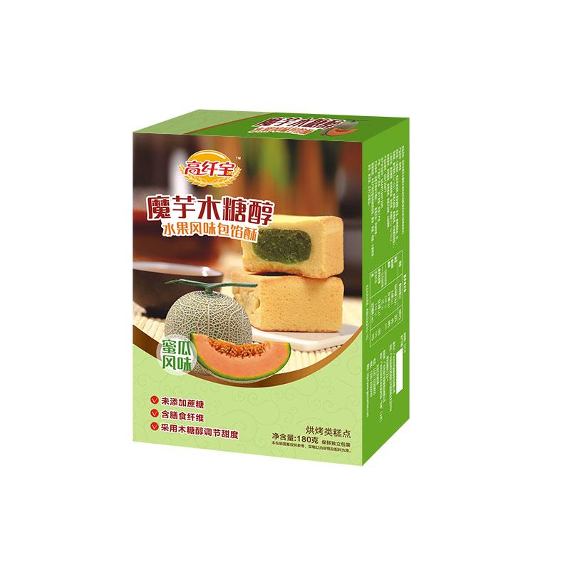 高纤宝——木糖醇蜜瓜味包馅酥
