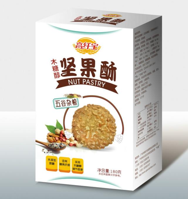 高纤宝——木糖醇苦荞麦坚果酥